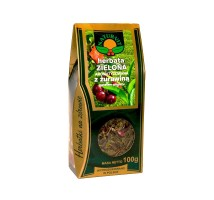 Herbata zielona z żurawiną i kwiatem granatu