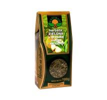 Herbata zielona z gruszka melisa i skrzypem