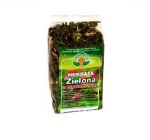 Herbata zielona z płatkami róży