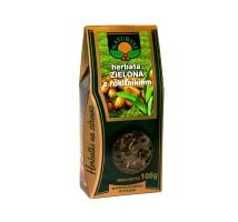 Herbata zielona z rokitnikiem