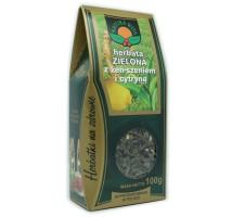 Herbata zielona z żeńszeniem i cytryną - Natura Wita