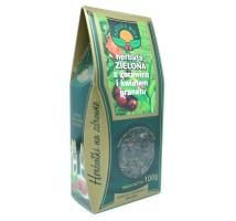 Herbata zielona z żurawiną i kwiatem granatu - Natura Wita