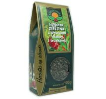 Herbata zielona z malinami i truskawkami - Natura Wita