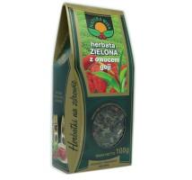 Herbata zielona z owocami goji - Natura Wita