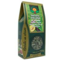 Herbata zielona ze śliwką  - Natura Wita