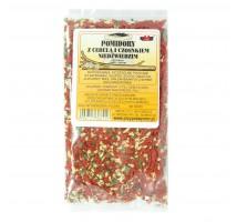 Pomidory z cebulą i czosnkiem niedźwiedzim - NMR